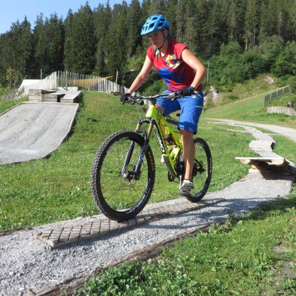 Mountainbike Fahrtechnikkurs in Laax