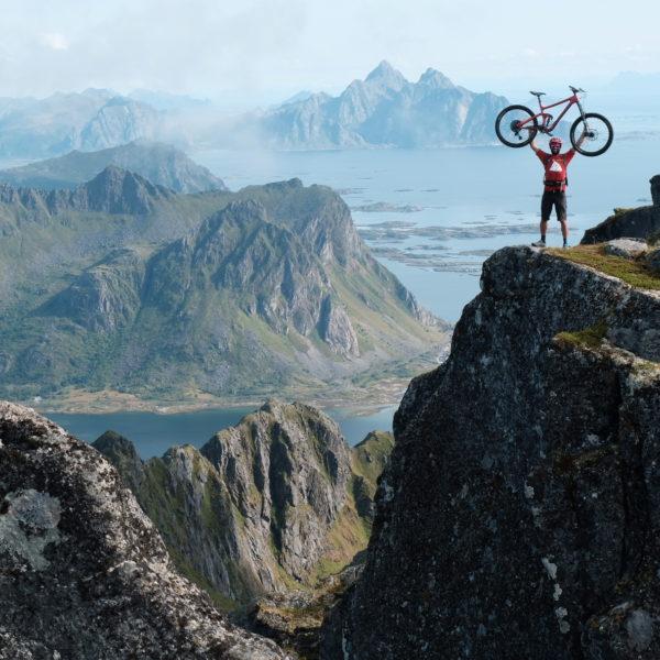 Mountainbiken auf den Lofoten