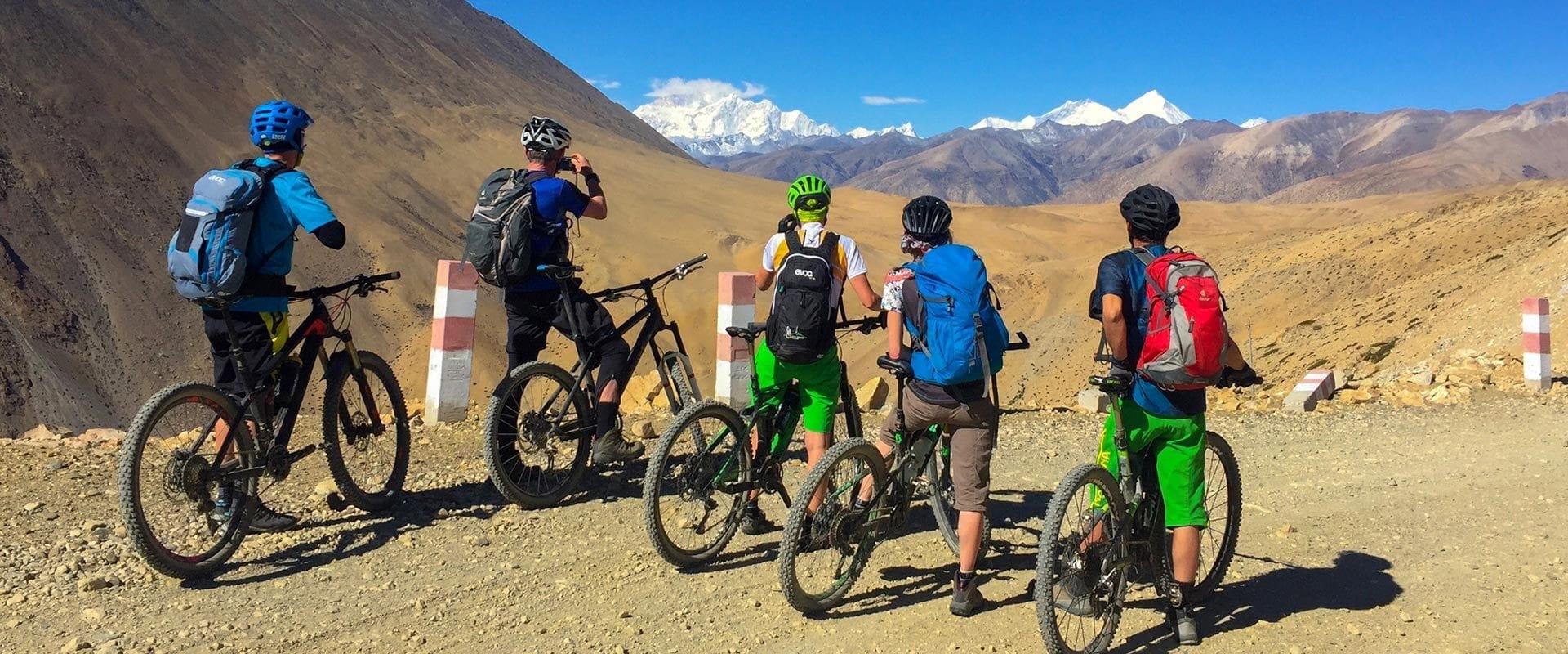 Bikereise zum Everest Basecamp in Tibet