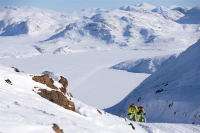 Mit dem Fatbike auf dem Arctic Circle in Grönland