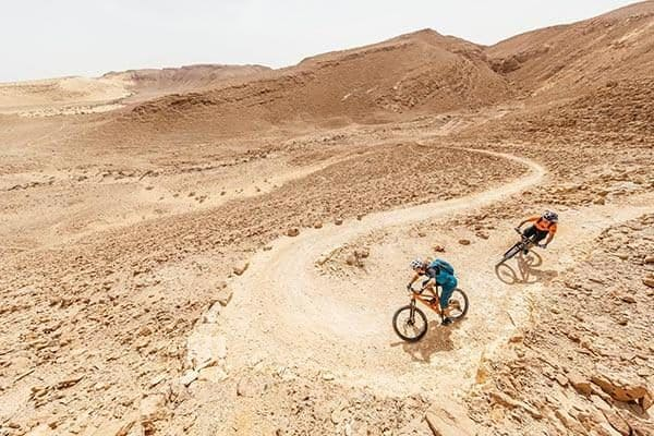 Holy Trails: Bikereise auf Singletrails durch Israel
